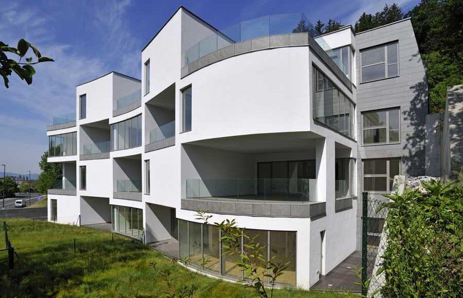 Groleger Arhitekti Vila Grad Apartment Building Ljubljana